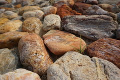The rocks. On the floor Royalty Free Stock Images