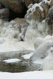 Rocks in foam Royalty Free Stock Photo