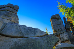 Rocks formation. Royalty Free Stock Photo