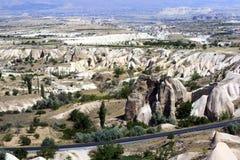 Rocks formations in Capadocia Royalty Free Stock Photography