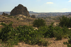 Rocks formations in Capadocia Stock Photos