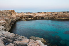 Rocks in Formentera Stock Photos