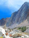 Rocks Galore in Medicine Bow Wyoming royalty free stock images