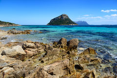 Rocks in Golfo Aranci in Sardinia, Italy Stock Image