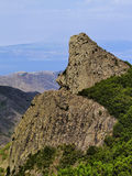 The Rocks on Gomera Royalty Free Stock Photos