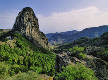 The Rocks on Gomera Royalty Free Stock Images