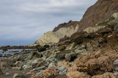 Rocks in Hawke's Bay. New Zealand Stock Photo