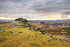 Rocks at Haytor, England Royalty Free Stock Image