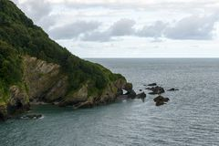 Rocks at Hele bay, Devon Royalty Free Stock Photography