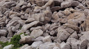 Rocks at the Hill Royalty Free Stock Images
