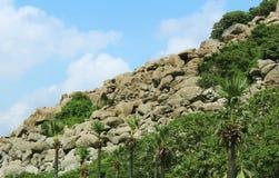 Rocks hill landscape Royalty Free Stock Photos