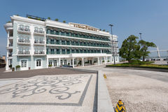 Rocks Hotel in Macau Stock Photography