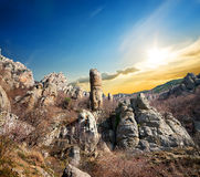 Free Rocks In The Valley Of Ghosts Stock Images - 34839054