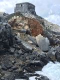 Rocks in Italian sea Royalty Free Stock Image