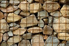 Rocks In Jail Royalty Free Stock Images
