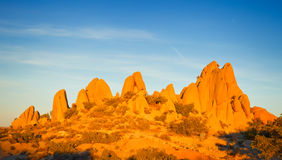 Rocks in Joshua Tree National Park Royalty Free Stock Photography