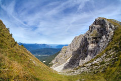 Rocks on Karwendel mountain range Royalty Free Stock Images