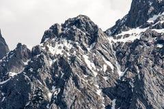 Rocks of the Karwendel Mountains Royalty Free Stock Image