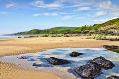 Rocks at Killantringan Bay, Dumfries & Gallloway Royalty Free Stock Photography