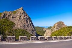 Rocks in La Gomera island - Canary Stock Images