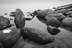 Rocks in Lake Stock Photos