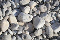 Rocks on a Lakeside resort in beautiful British Columbia, Canada Stock Photos