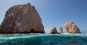 The Rocks at Lands End at Cabo San Lucas Baja Mexico Royalty Free Stock Image