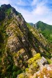 Rocks landscape in summer Stock Photos