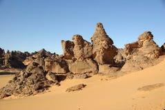 Rocks in Libya Royalty Free Stock Image