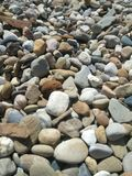 Rocks on beach royalty free stock images