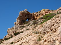 Rocks on Marettimo Island, Sicily, Italy Royalty Free Stock Photos