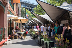 The Rocks Markets and The Tea Cosy royalty free stock images