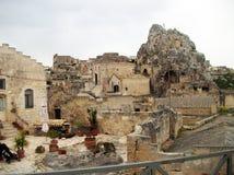 Rocks of Matera Royalty Free Stock Photo