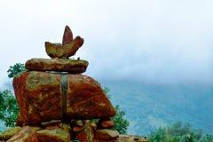 The rocks in a meditation resort. Sattva Stock Photo