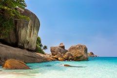 Rocks At Miang Island Thailand Royalty Free Stock Image
