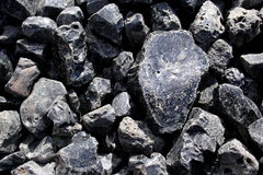 Rocks and minerals. Refuse rocks from the mining and processing of iron ore Royalty Free Stock Photos
