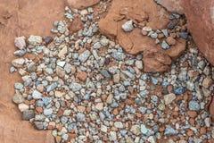 Rocks minerals  and sandstone Stock Photo