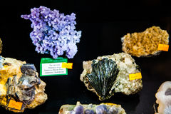 Rocks and minerals Royalty Free Stock Photos