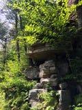 Rocks at Minnewaska State Park Stock Image