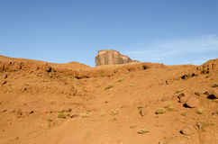 Rocks in Monument Valley Royalty Free Stock Photography