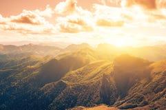 Rocks mountain in autumn Stock Photo