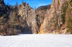Rocks mountain canyon in Eastern Sayan Stock Photo