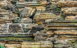 The rocks of mountain Royalty Free Stock Photography