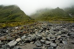 Rocks and mountains Stock Photography