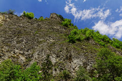 Rocks in the mountains. In Europe Royalty Free Stock Photo