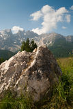 Rocks and mountains in South Tyrol Stock Images