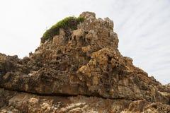 Rocks at Mullimbura point near Bingi. Australia. Royalty Free Stock Image