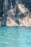 Rocks at Myrtos Beach Royalty Free Stock Photo