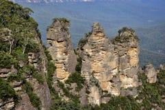 Rocks named Three Sisters Royalty Free Stock Photos