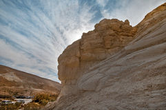 The Rocks. At the National Park Beit Avdat. Israel Royalty Free Stock Images